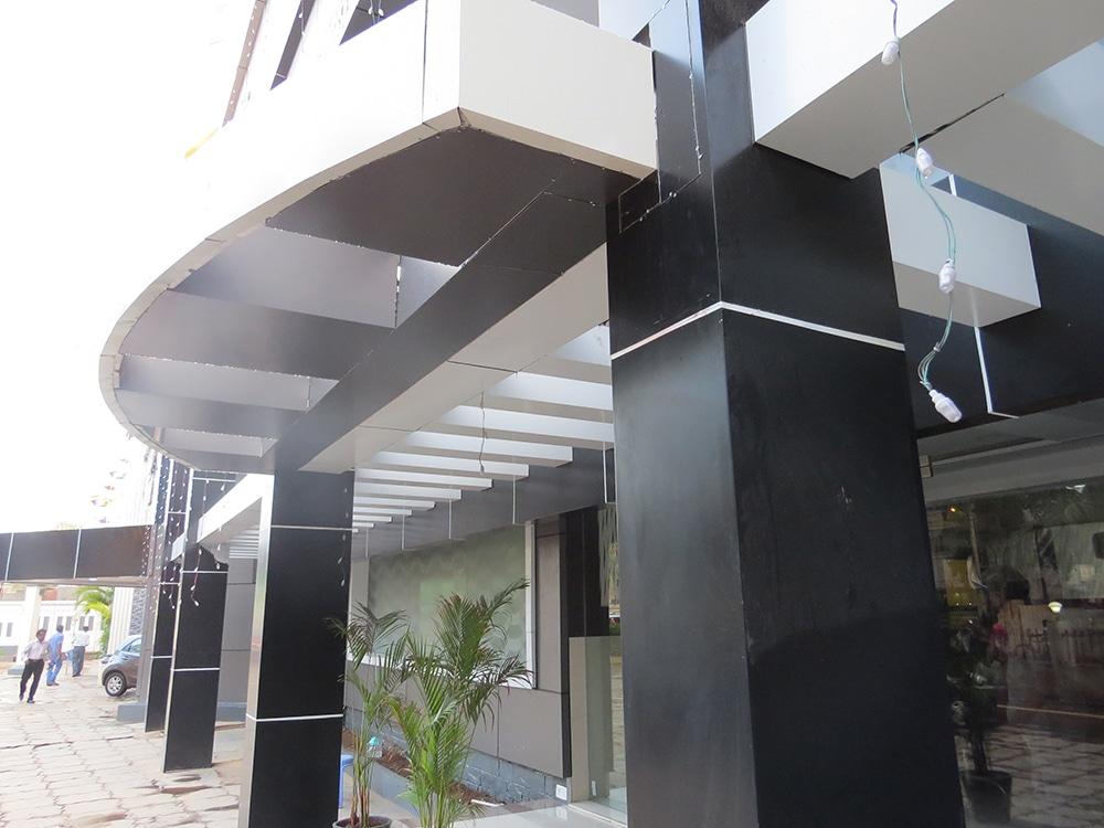 Glass Aluminium Composite Panel