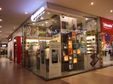 Glass Interior glass partition